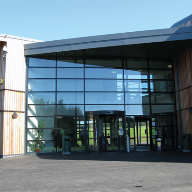 Alu-Timber Windows, Doors, Framing & Curtain Walling Were Used At Coleg Meirion Dywfor, Caernarfon, Gwynned, Wales.
