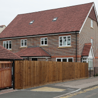 Redland's Heathland Concrete Tiles Were Chosen For A Development Of Premium Mew Houses