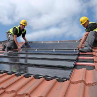Forster installed Redland's 'On Top' and 'Integrated' solar PV roof systems