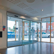 A Combination Of Automatic Swing Doors And A Sliding Door Were Supplied To Grand Union Village Health Centre