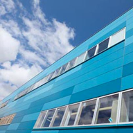 Trespa Meteon® was used at Birmingham College