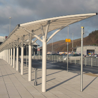 Bailey Streetscene Walkway and Waiting Canopy at New Ferry Port Loch Ryan