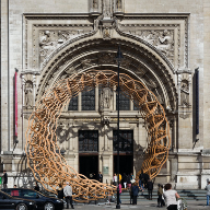 The Timber Wave, London's Victoria & Albert Museum