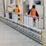 More than 2.5km of safety barriers at Morrisons Bridgwater