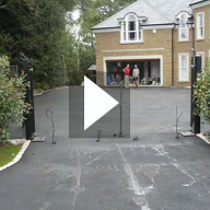 RonaDeck Resin Bound Surfacing Before and After Video