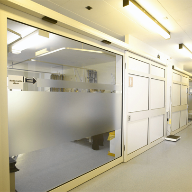 Automatic door installations at Colchester General Hospital
