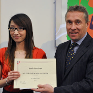Top MSc student wins low carbon building design prize from SE Controls