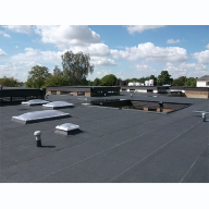 Derbigum Speeds Up Completion of New Roof at Doddington Hospital