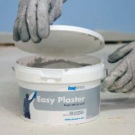 Easy Plaster swiftly patches cracks and holes