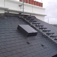 Kee Safety provides a roof-top safety solution for The Lancasters in London