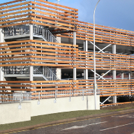 Cedar Cladding, Gatwick Airport