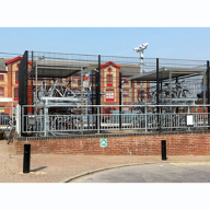 Toptech provided cycle storage solution for Essex County Council