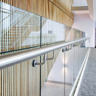 Sapphire Balustrades selected for BREEAM excellent University building