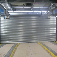 Gilgen doors installed at UK's first super food waste plant