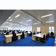 Armstrong Ceilings follow the curve at Police Motorway HQ