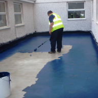 Deck Waterproofing at a care home in Swansea
