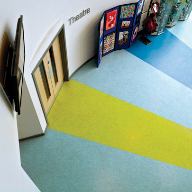 Tarkett flooring goes boldly on!