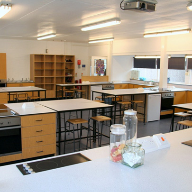 Ansford School Food Tech Room