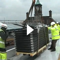 Vitral Roofglazing Site Installation Video