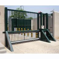 New High Speed, High Impact, Sliding Armoured Vehicle Gate protects wider widths and offers high speed operation