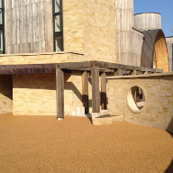 RonaDeck Resin Bound Surfacing chosen for unique property, Downley House