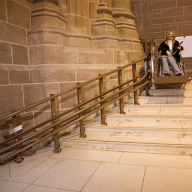 Stannah and Liverpool Cathedral: Improving access for all mobility levels