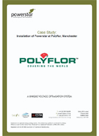 Installation of Powerstar at Polyflor, Manchester