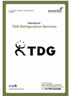 TDG Refrigeration Services,