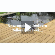 Unwrapping Southern Yellow Pine Deck Boards Video