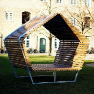 Kebony have produced the perfect Urban Shelter to seek a peaceful rest