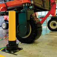 Aggreko First in UK to Install Berry Soft Stop Bollard