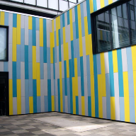 Steni panels help bring Colour to a wintry Widnes