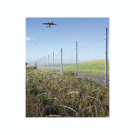 2.5 miles of security fencing installed at Bristol airport