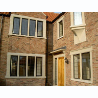 Cast stone window and door surrounds: standard and bespoke