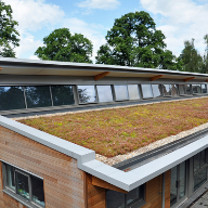 Shrewsbury Sixth Form College in Shropshire has recently unveiled a new £1 Million building which features a pioneering roofline system.