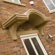 Cast stone heads and cills