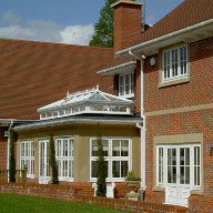 Cast stone used for orangery