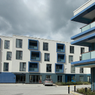 Sapphire Balustrades enhance modern retirement living