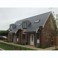 Cembrit Slates used for Kings Somborne Development