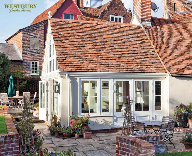 Garden Room on Grade II Listed Building in Suffolk