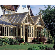 Classic designed timber Conservatory on Listed Building