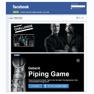 On Facebook? Play the Geberit Challenge Piping Game and prove that you're the best