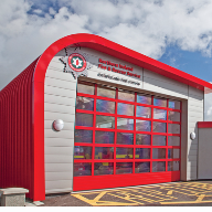 Kalzip systems are ideal for Rathfriland Fire Station