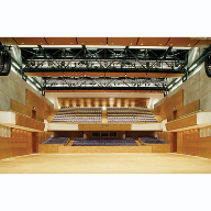 Topperfo acoustic wall panels at Perth Concert Hall