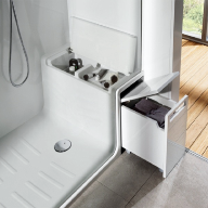 Roca introduces its latest innovation for the shower space: Hide & Seat
