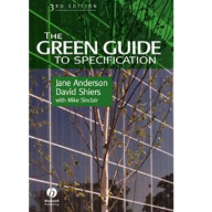 The Green Guide Specification Tool