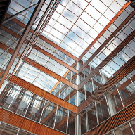 CONTRAFLAM® fire rated atrium is a towering sucess