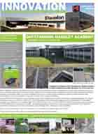 Innovation Newsletter Focusing on Landscaping