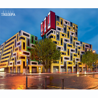 Vibrant student accommodation at University of Essex: Image