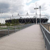 Hoppings Softwood Products supply timber decking at London 2012 Olympics
